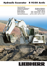 Liebherr R 9350 User Manual | 12 pages