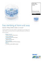 Philips avent microwave steam steriliser directions for use youtube.