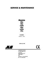 [SCHEMATICS_4CA]  JLG 35e Service Manual manuals | Jlg N40e Wiring Diagram |  | Manuals Directory