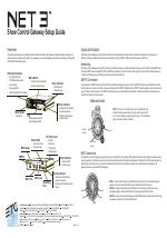 Show Control Gateway Setup Guide Etc