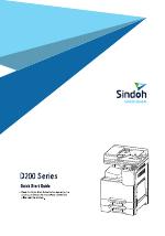 Sindoh D201 manuals