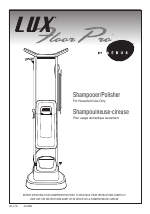 Aerus Lux Floor Pro Manuals