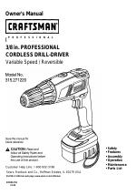 craftsman cordless drill manuals