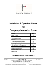 cover talkaphone etp 400 emergency phone with one button manuals talk a phone etp-400 wiring diagram at eliteediting.co