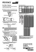 keyence sl v series manuals. Black Bedroom Furniture Sets. Home Design Ideas