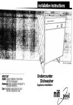 whirlpool dishwasher instruction manual