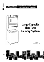 Whirlpool Thin Twin User Manual | 40 pages
