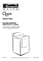 kenmore elite oasis steam 110 6808 manuals rh manualsdir com Kenmore Electric Dryer kenmore elite dryer user guide