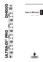 pdf download behringer ultra di pro di4000 user manual 14 pages rh manualsdir com Kindle Fire User Guide Online User Guide