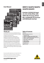 Behringer Xenyx 2442fx Manual Pdf