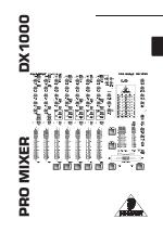 pdf download behringer pro mixer dx1000 user manual 22 pages rh manualsdir com behringer mixer manual pdf Behringer Owner Manuals