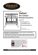 vermont casting 1610 user manual 40 pages rh manualsdir com Vermont Castings Defiant Wood Stove vermont castings encore service manual