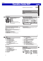Operation guide 5087 | g-shock gw-4000 user manual | page 2 / 8.