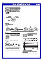 Casio gd100-1b manual page: 3.