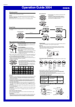 casio module 3054 manual