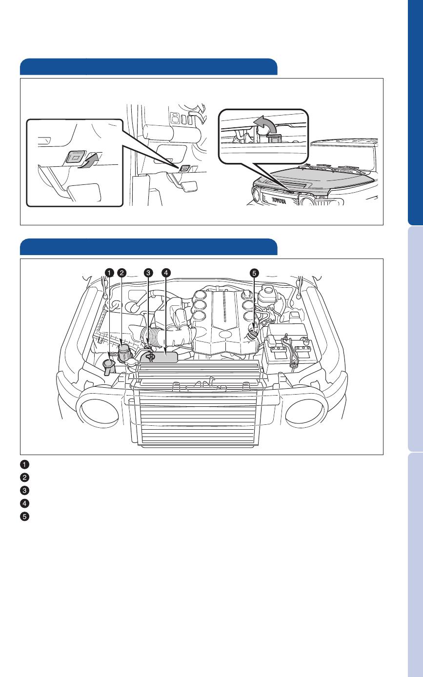 Hood Release Engine Maintenance Toyota 2011 Fj Cruiser User Manual Page 31 543