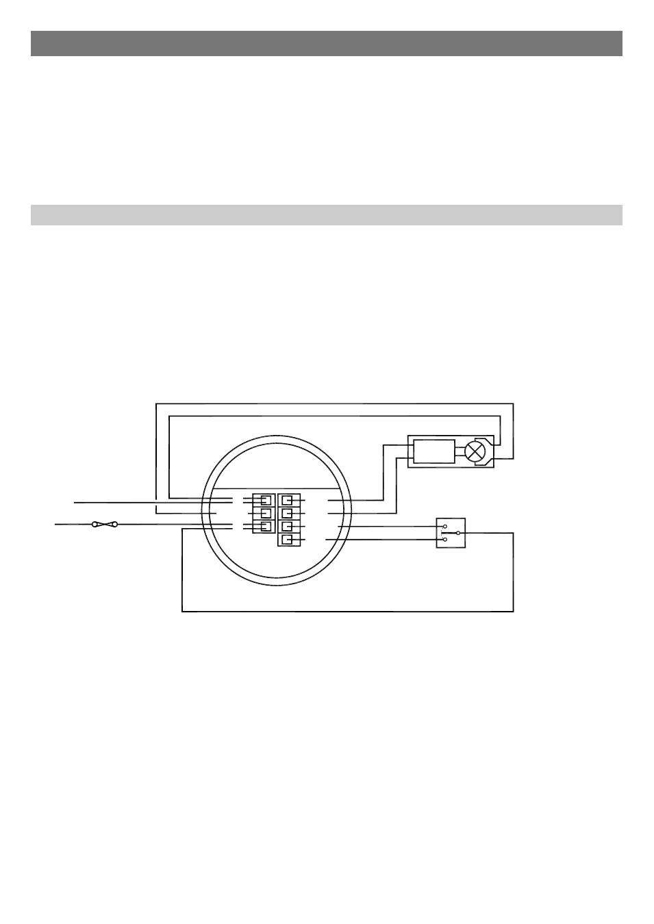 retractive switch wiring diagram