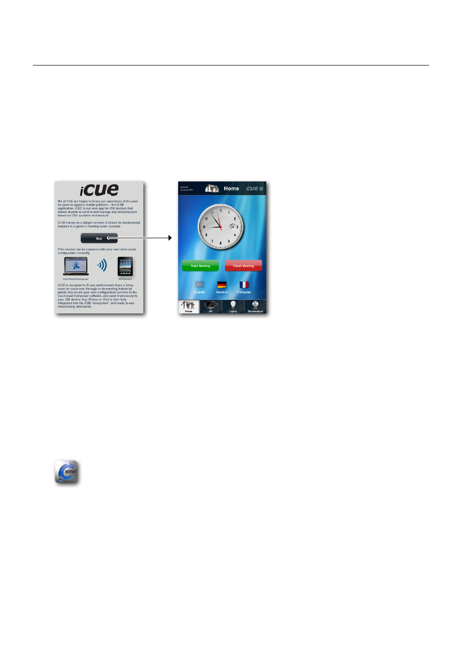 Runtime installation, Apple ios, Android | CUE iCUE User