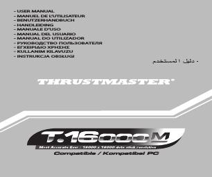 Thrustmaster T 16000M manuals
