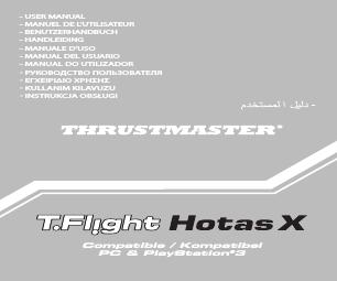 79da26d11 Thrustmaster T.Flight HOTAS X manuals