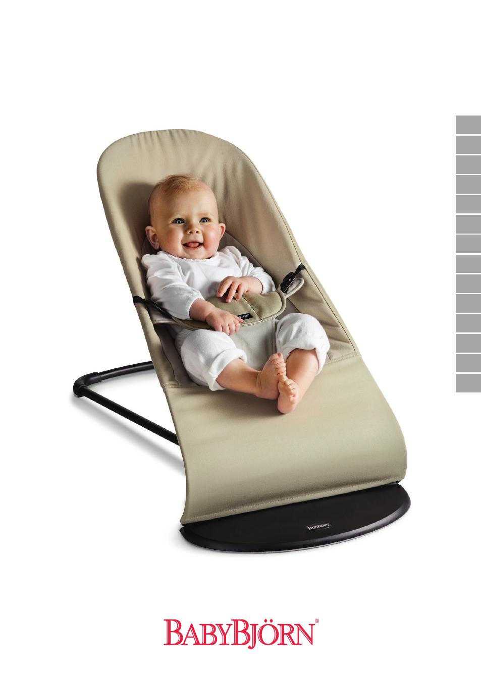 babybj rn bouncer balance soft user manual 60 pages rh manualsdir com babybjorn instruction manual babybjorn baby carrier manual