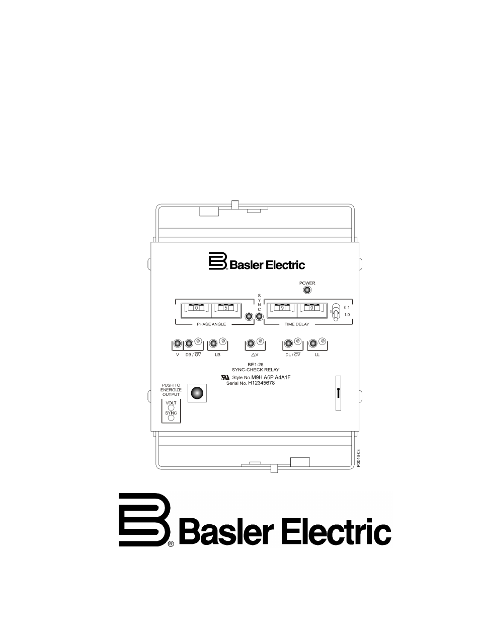 basler electric be1