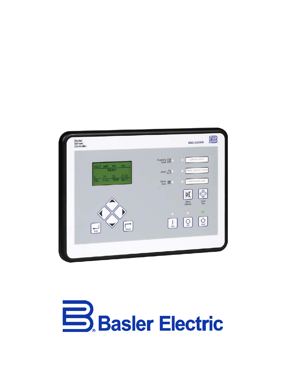 Basler Electric DGC-2020HD User Manual   404 pages   Basler Generator Wiring Diagram      Manuals Directory