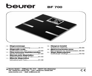 beurer bf 700 manual