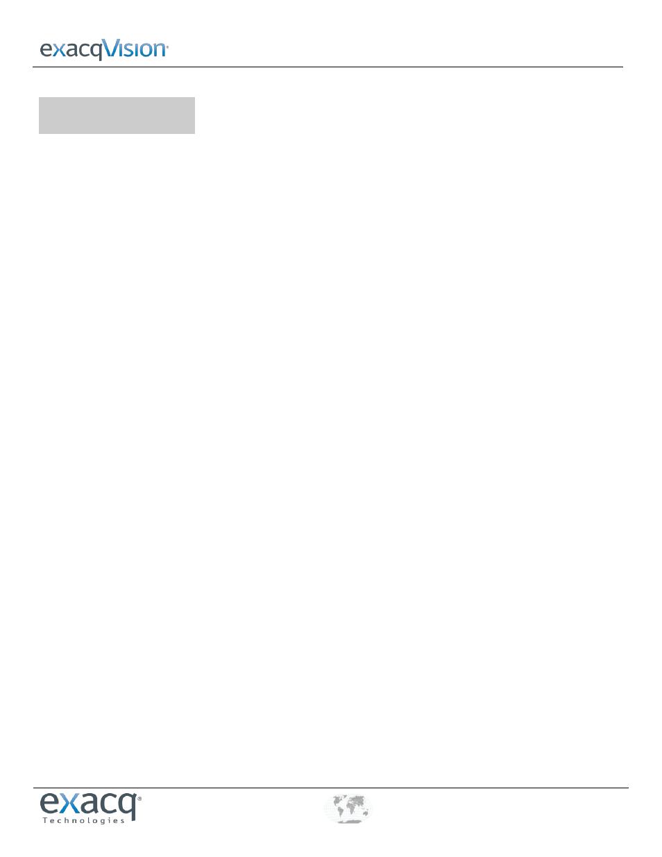 Exacq exacqVision Server/Client OS: Linux OpenLDAP User