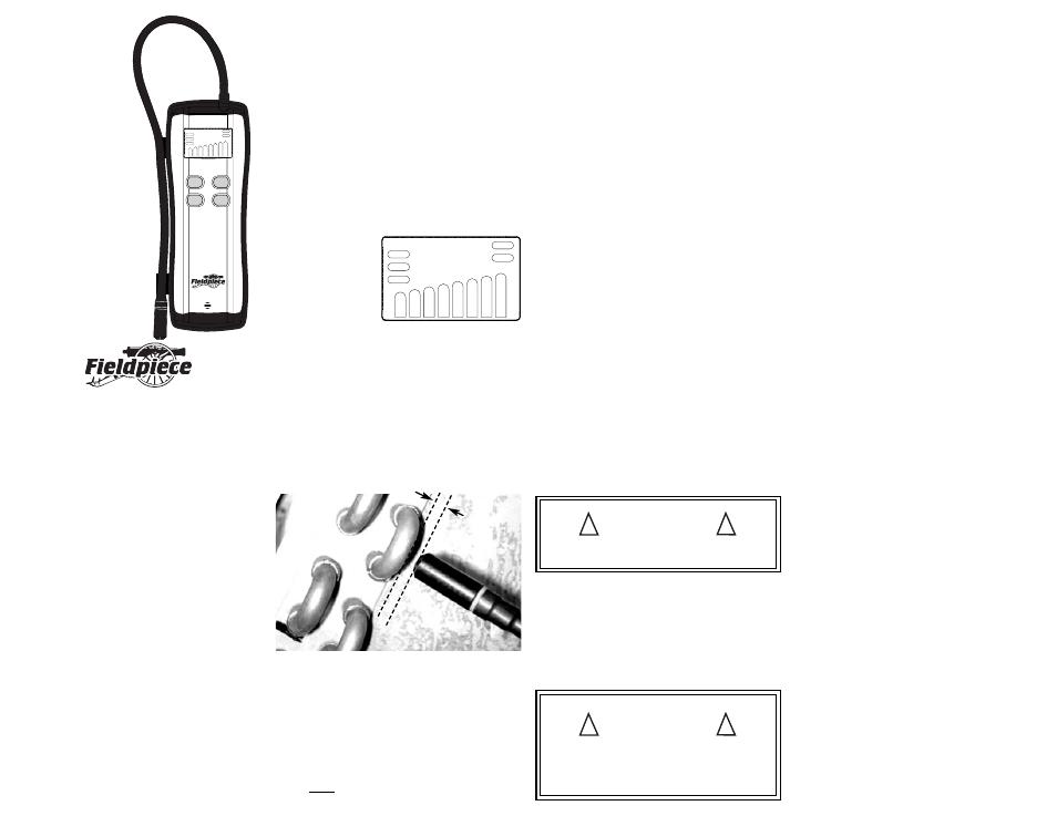 NEW FIELDPIECE SRL8 HEATED DIODE RHD1 REPLACEMENT SENSOR LEAK DETECTOR HVAC Tools