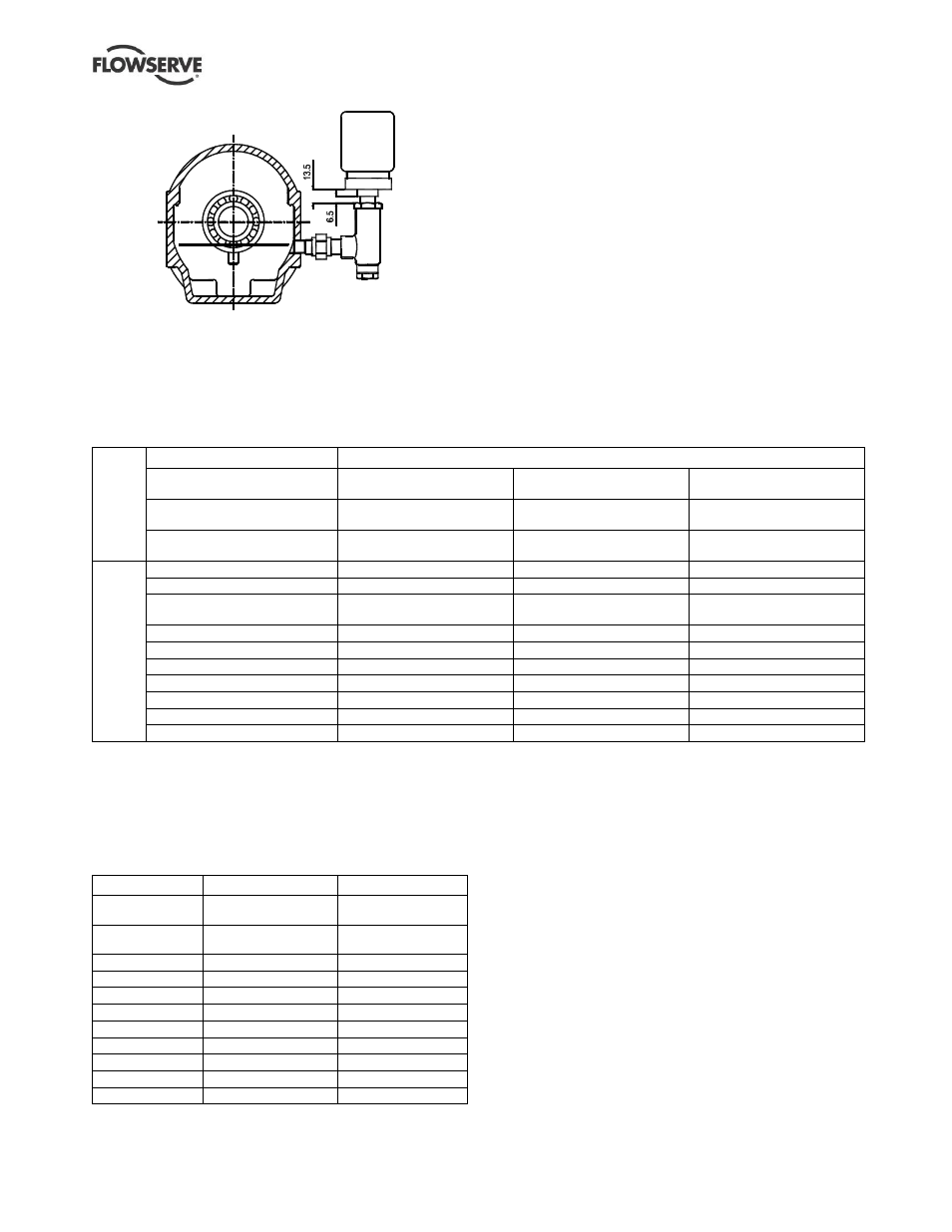 2 pump lubricants | Flowserve WPG IDP User Manual | Page 16 / 40
