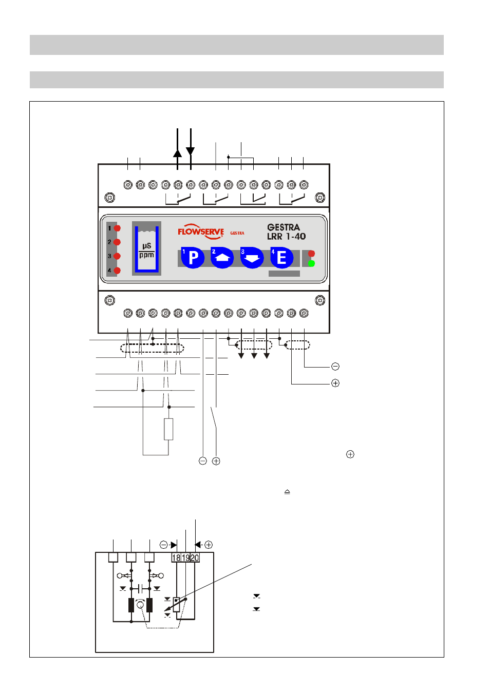 wiring diagram lrr 1 40 wiring fig 4 fig 5 flowserve lrr1 40 rh manualsdir com Light Switch Wiring Diagram HVAC Wiring Diagrams