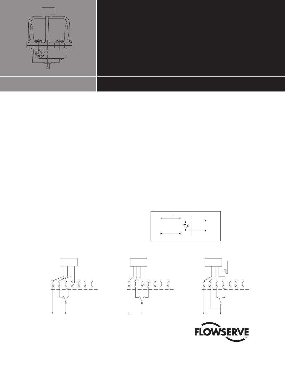 Flowserve Clc Module 10 30 75 Actuator User Manual 2 Pages Wiring Diagram Background Image