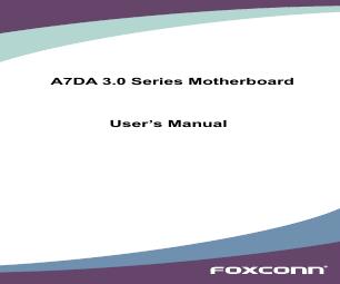 Foxconn a7da-s 3. 0   english manual.