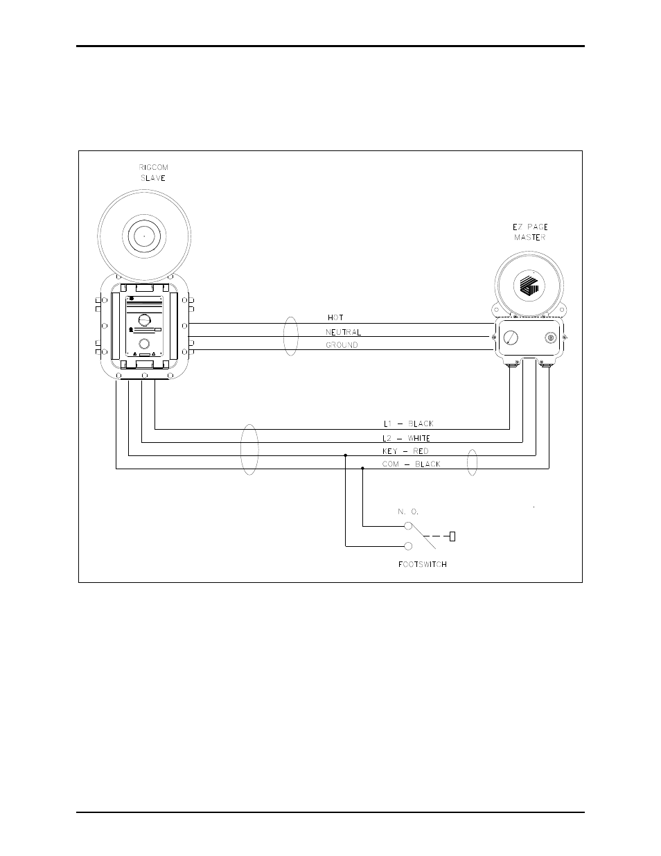 Optional footswitch interface, Figure 7. footswitch ... on servo motor wiring diagram, traffic signal wiring diagram, start stop station wiring diagram, fire alarm pull station wiring diagram, m8 3-pin wiring diagram,