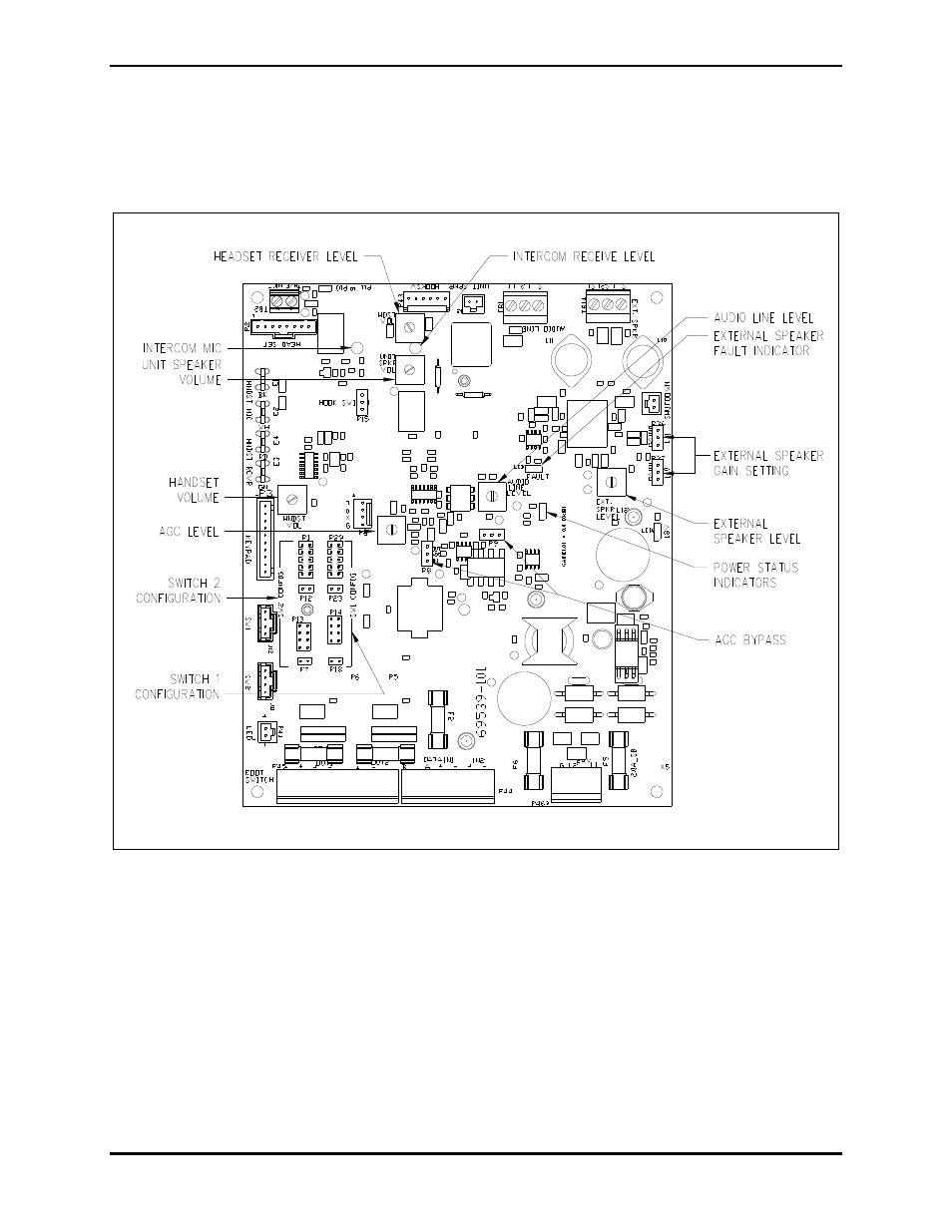 doc015 audio level adjustments gai tronics dhs 201 digital intercom