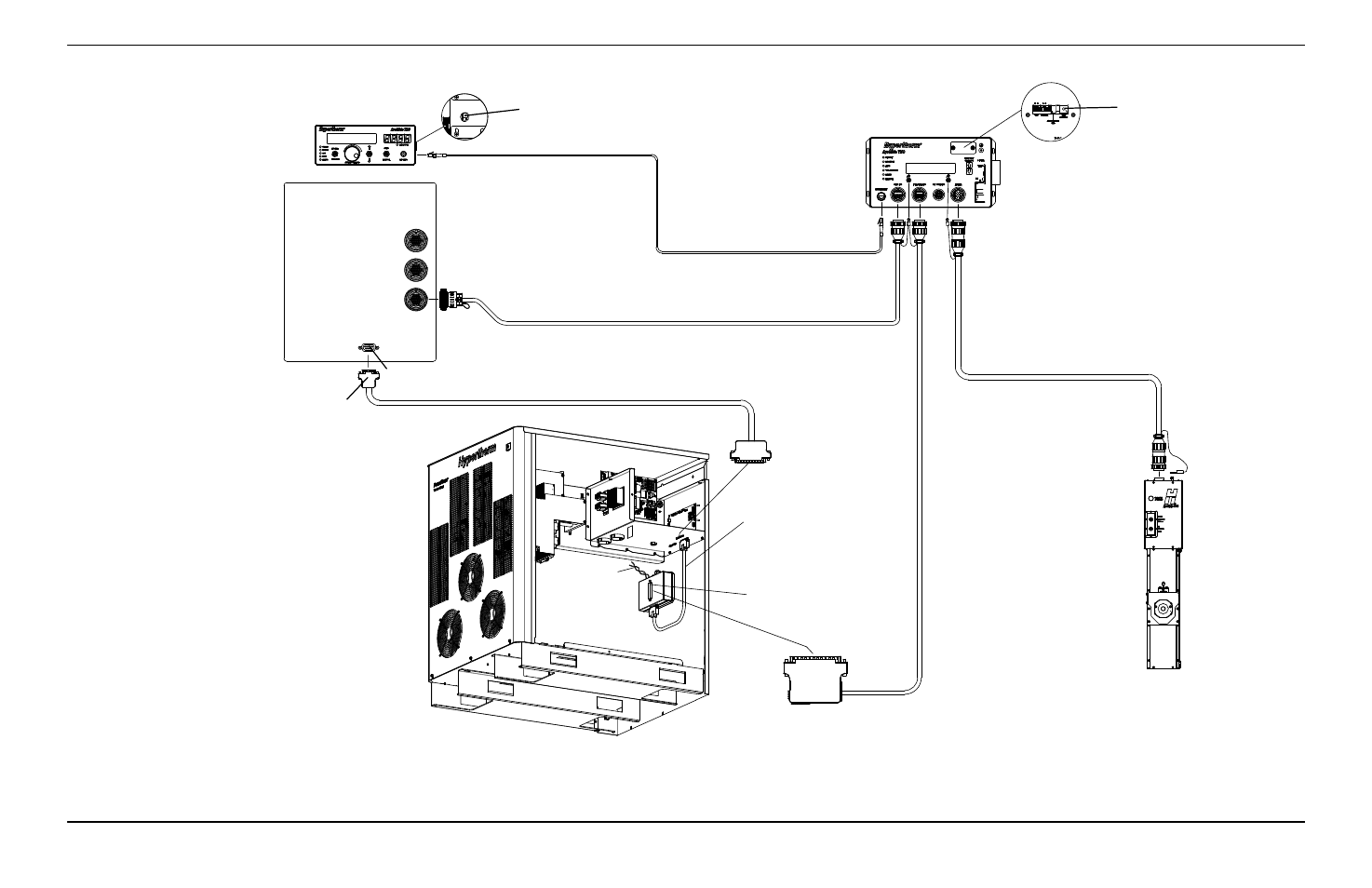 Cnc Thc Wiring Diagram Trusted Diagrams Bldc Machine Schematic Hypertherm Arcglide User Manual Page 67 288 Also For Edge