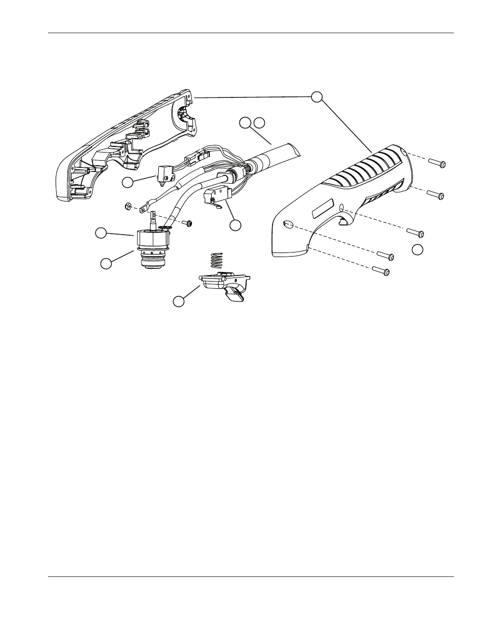 T45v Hand Torch Parts  T45v Hand Torch Parts
