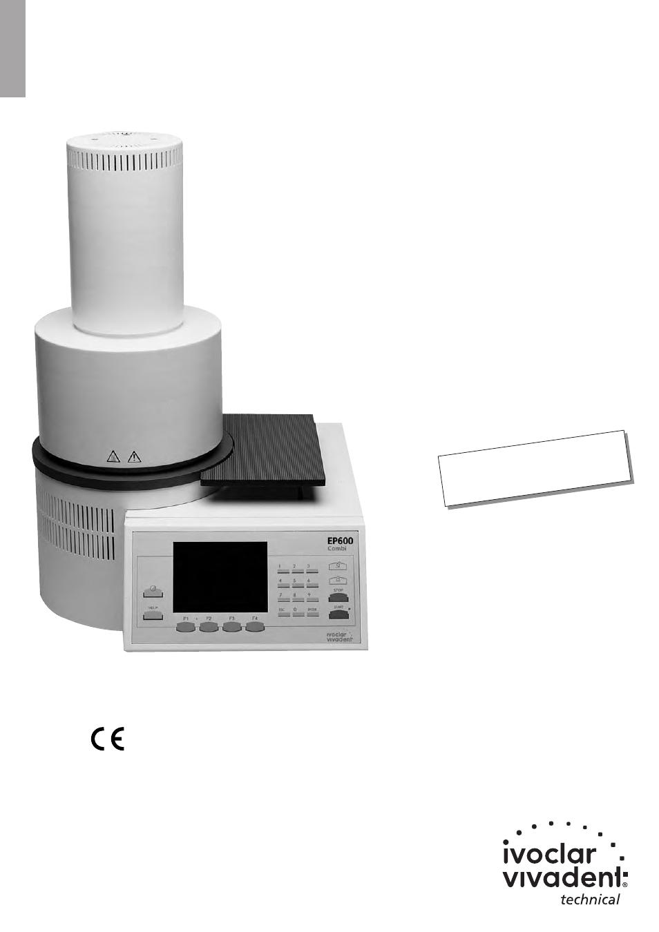 ivoclar vivadent ep 600 combi user manual 40 pages rh manualsdir com
