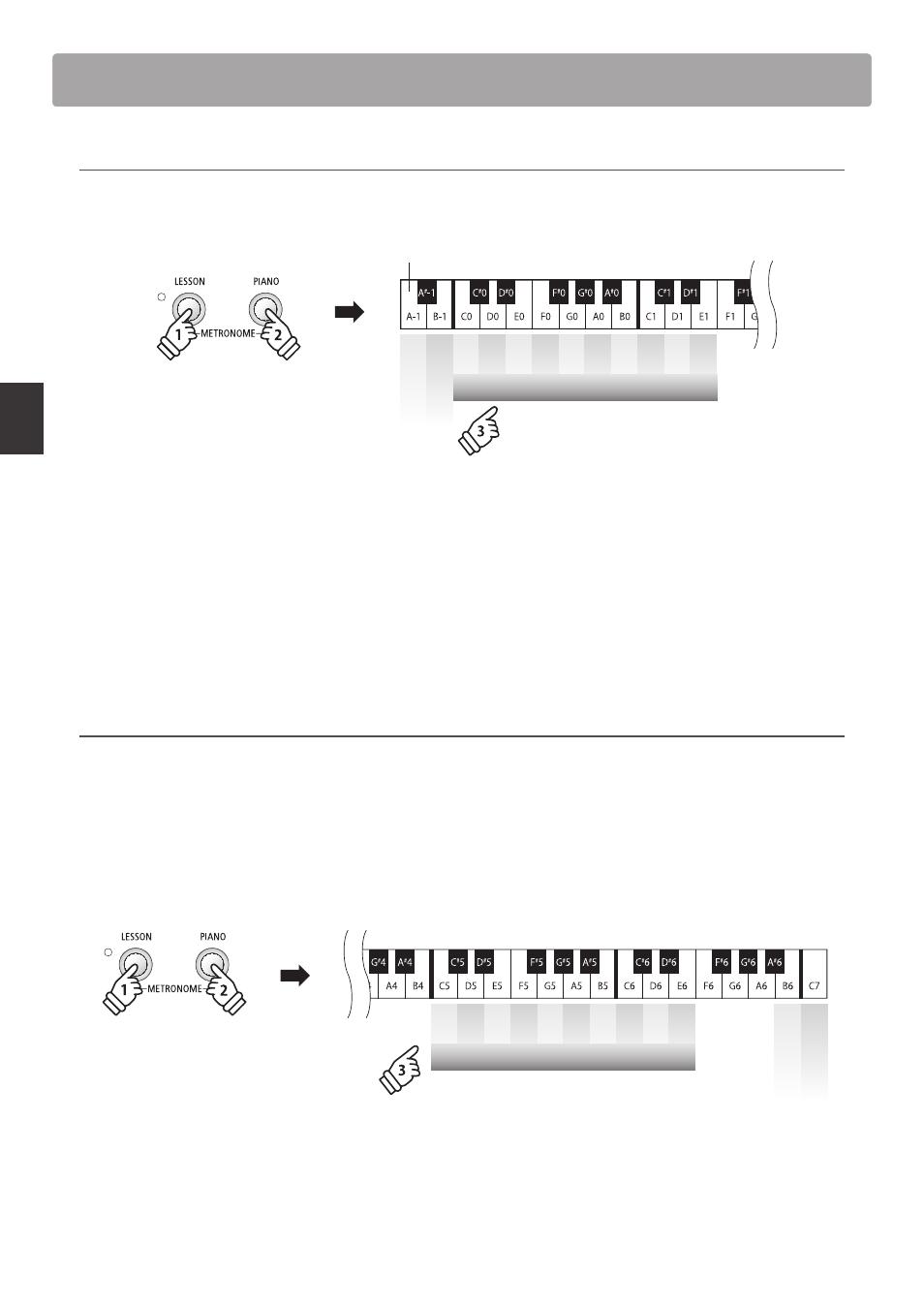bc148c5d2a5 Metronome / drum rhythms, Adjusting the metronome tempo, Drum ...