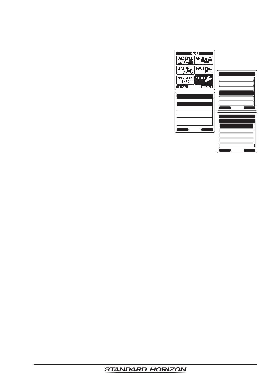 8 sub channel standard horizon hx 870 user manual page 103 140 rh manualsdir com standard horizon hx870 user manual standard horizon cp300i user manual