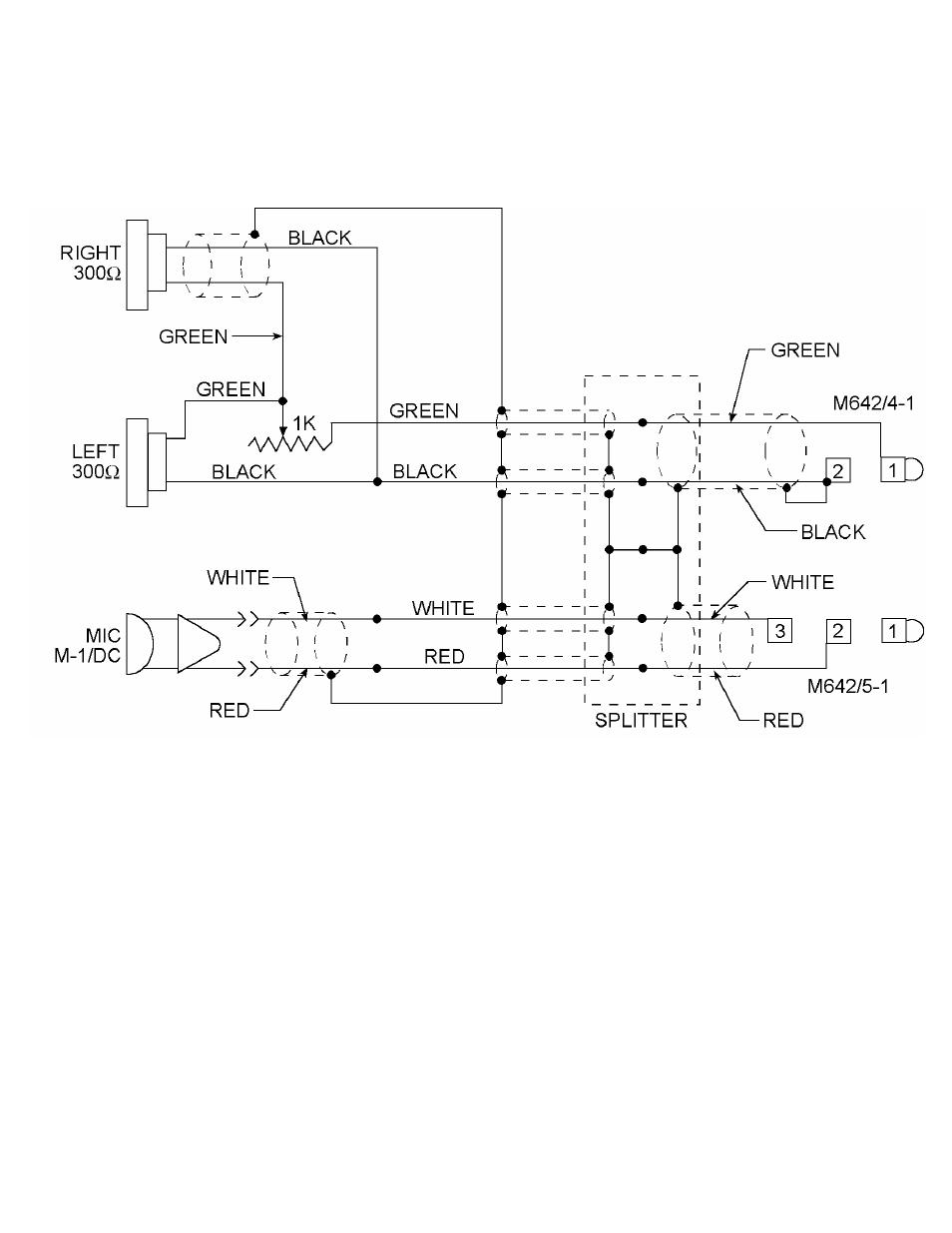 Electrical schematic model h10-30   David Clark H10-30 User Manual ...