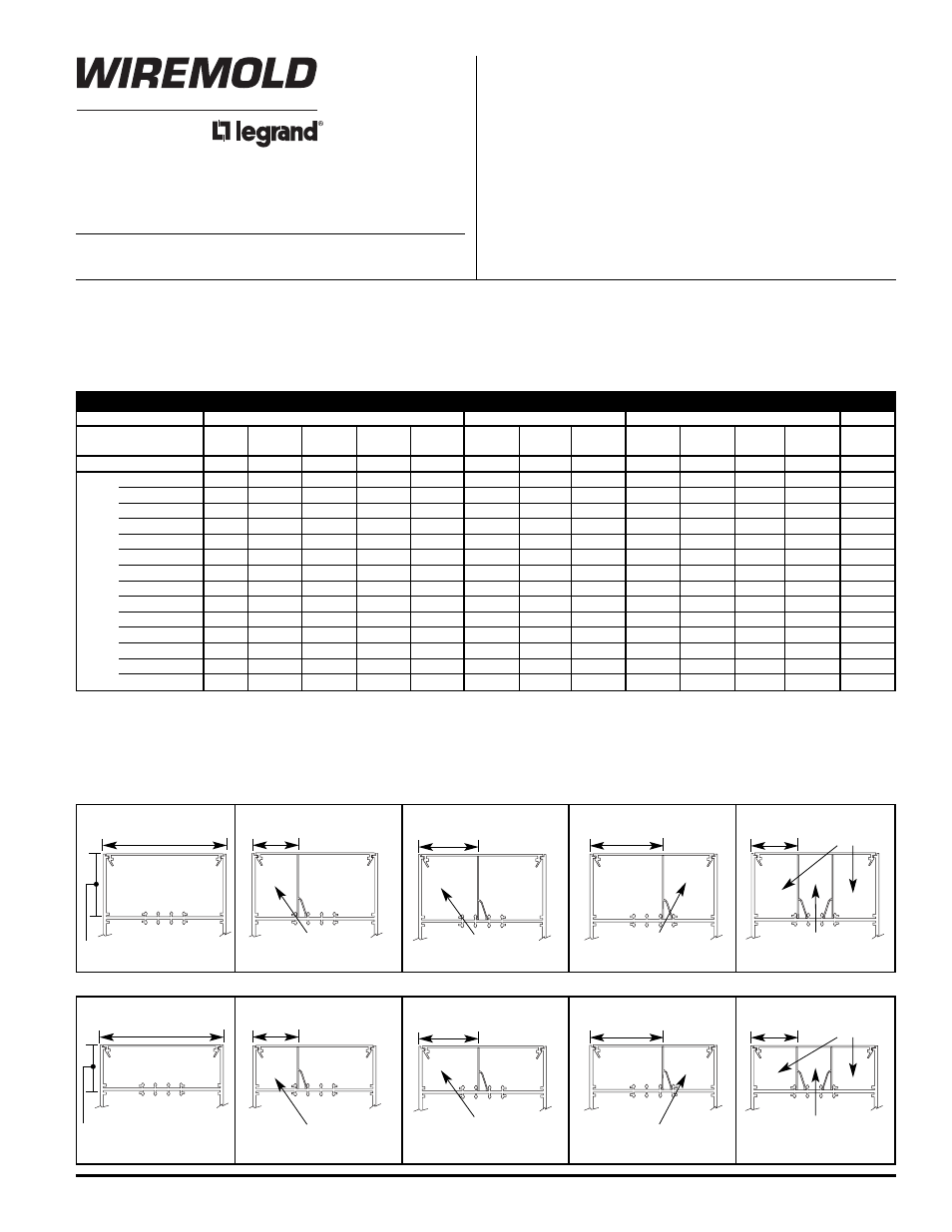 Legrand NP800 Series User Manual | 2 pages