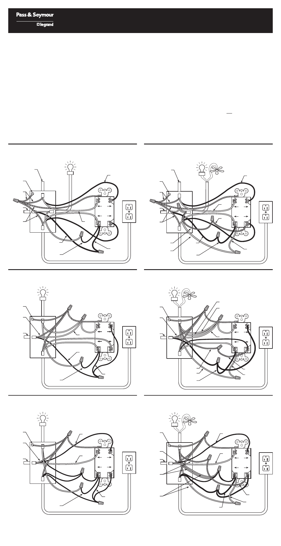 Legrand 1595SWT User Manual | 2 pages | Also for: 15952SWTManuals Directory
