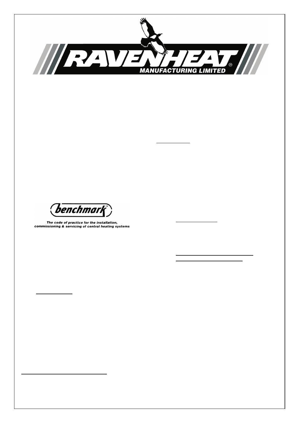 ravenheat csi 85 old model user manual 4 pages rh manualsdir com User Manual Clip Art User Guide