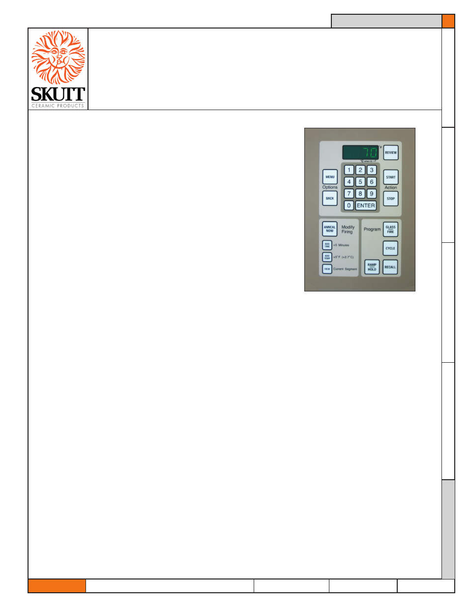Skutt Glassmaster 700 Board User Manual 17 Pages