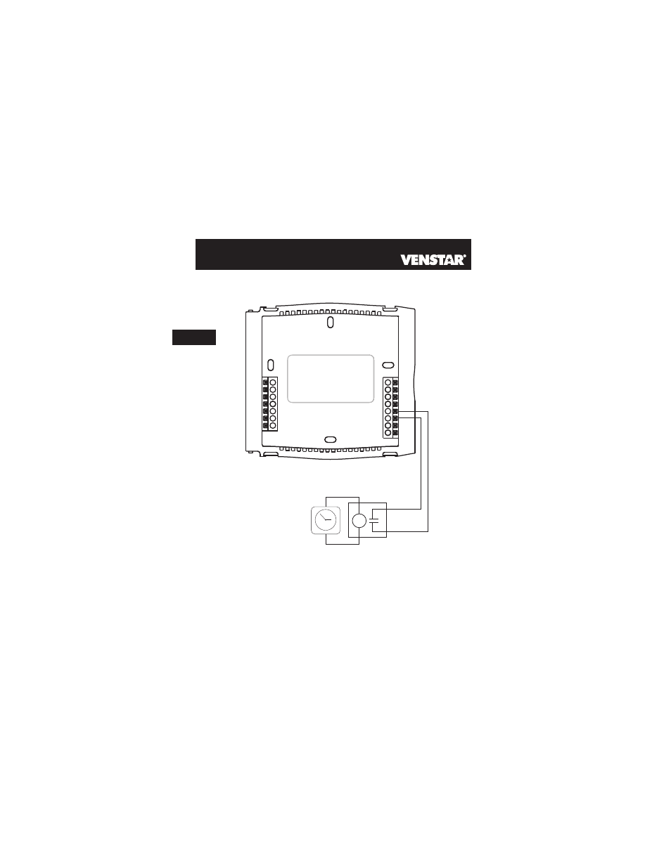 Page 58 5 Venstar T2700 Installation User Manual 19 23 Thermostat Wiring Diagram Background Image