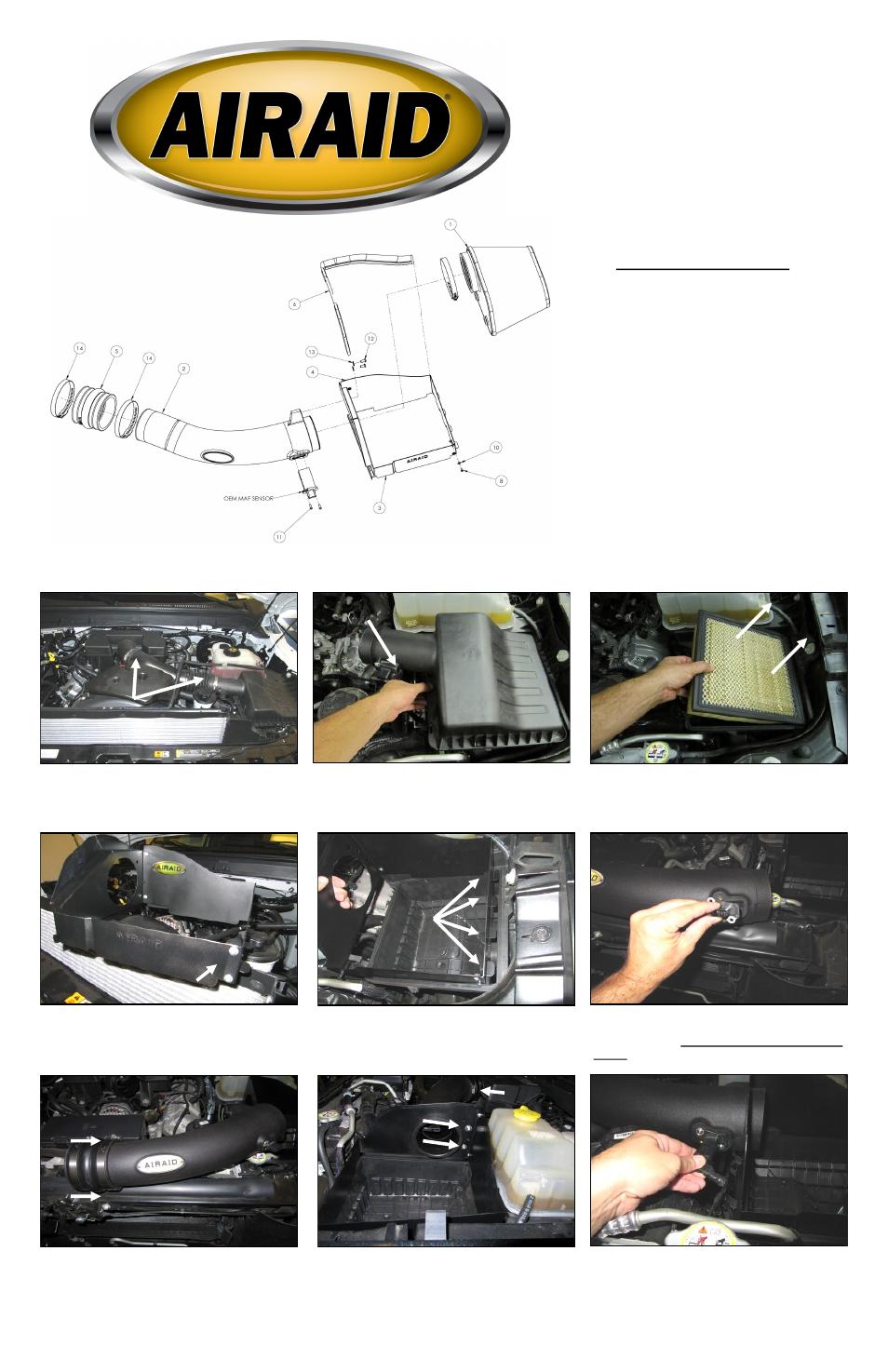 airaid 400 273 user manual 2 pages also for 401 273 402 273 rh manualsdir com Operators Manual Instruction Manual Book