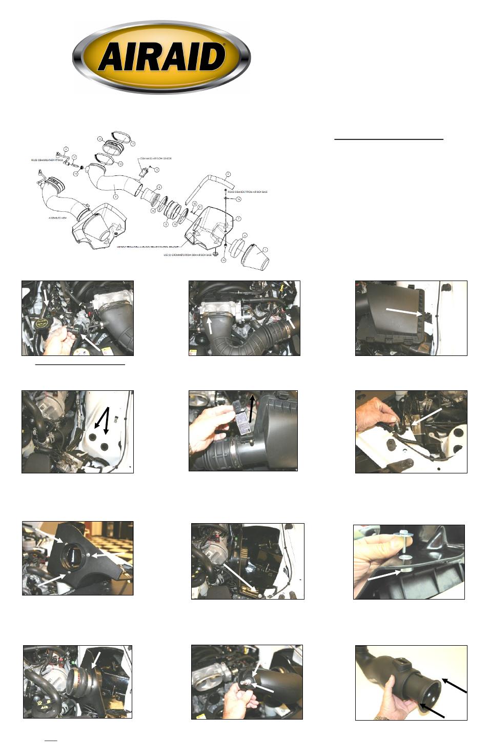 airaid 450 172 user manual 2 pages also for 451 172 452 172 rh manualsdir com Manuals in PDF User Manual PDF