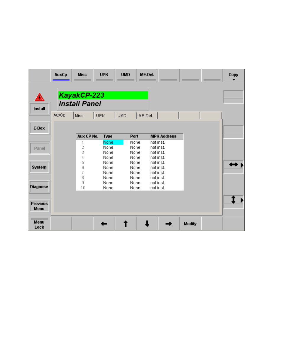 Aux cp index card | Gr Valley Kayak HD v.6.9.3 User ... Valley Control Box Wiring Diagram on
